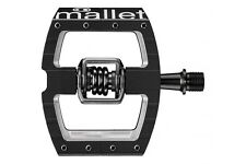 Crank Brothers Mallet DH Race - Clipless Mountain Bike Pedals - Black
