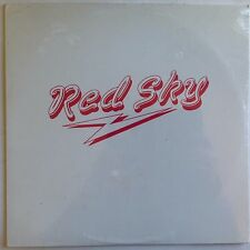 Red Sky 1985 NW Seattle/Tacoma Private Indie AOR Synth Rock  (LP Vinyl) RARE