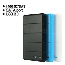 USB 3.0 2.5'' SATA Enclosure Caddy External Case Box For SSD HDD Hard Drive Disk