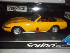 Solido Prestige 8018 Ferrari 365 GTS (Top Up) Yellow 1/18 Mint & Boxed