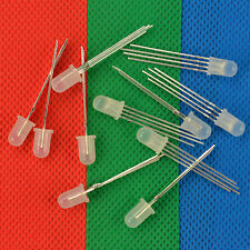 20pcs x 5mm 4 pin RGB Diffused Common Anode LED Red Green Blue