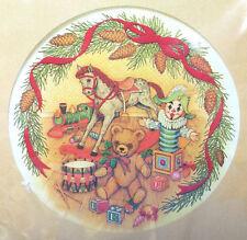 NEW CREATIVE CIRCLE EMBROIDERY KIT NOSTALGIC CHRISTMAS TOYS TEDDY BEAR DRUMR