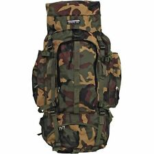 Camo Heavy-Duty Mountaineers Backpack, Mens Internal Frame Waterproof Day Pack