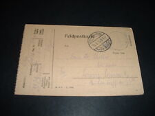WW1 OLD VINTAGE GERMAN  1915 FELDPOST  LETTER/CARD  (BB7)