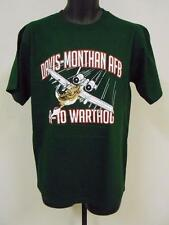 NEW-minor-flaw DAVIS MONTHAN AFB adult Mens SIZE M MEDIUM  T-SHIRT 76HJ