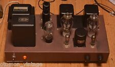 300B SE stereo tube amplifier with Luxman, F series Tamura transformer * VG++