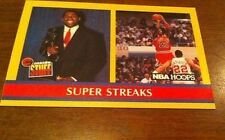 1990 - 1991 Fleer Hoops Magic Johnson/Michael Jordan #385 Basketball Card