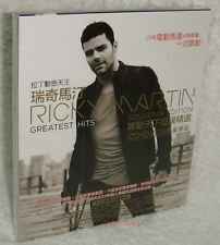 RICKY MARTIN GREATEST HITS SOUVENIR EDITION 2013 Taiwan Ltd CD+DVD w/BOX