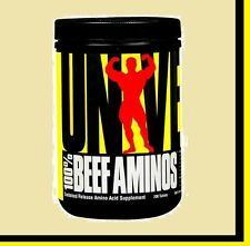 100 % Beef Aminos by Universal Nutrition  200 Tablets Amino Acids Worldwide Ship