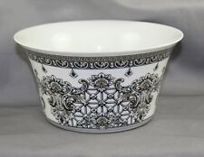 """Rosenthal Versace Marqueterie Large  Round Vegetable Bowl 7 3/4"""""""