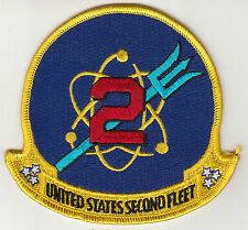 UNITED STATES SECOND FLEET CHEST PATCH