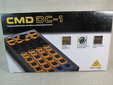 Behringer CMD DC-1 PAD MIDI MODULE - EFFECTS NAVIGATION CONTROL & DJ SOFTWARE