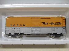 ~ ACCUREADY ~ DENVER & RIO GRANDE 40' STEEL AAR BOXCAR #69572 ~ LOT B ~ HO