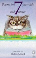 Poems for 7 Year-Olds and Under (Puffin Books) Nicoll Paperback