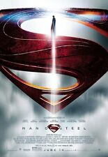 Man Of Steel movie poster (E) 11 x 17 inches - Henry CavillL, Superman poster