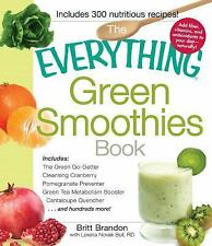 The Everything Green Smoothies Book: Includes The Green Go-Getter, Cle-ExLibrary
