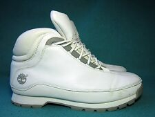 TIMBERLAND  Men's White Leather Hiker Boots US 9.5M/UK 9/EU 43.5
