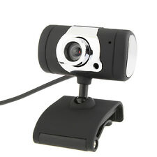 USB 2.0 HD Webcam Camera Web Cam With Microphone Mic LED For PC Laptop