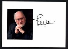 John Williams signed 5x7 photo / autograph Star Wars Harry Potter Jaws Composer