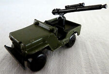 Vintage lesney matchbox superfast willy jeep no: 38 & monté gun 1976 (02)