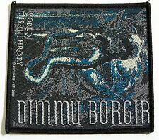 GENUINE DIMMU BORGIR EMBROIDERED JACKET PATCH METAL BAND SEW-ON CLOTH BADGE