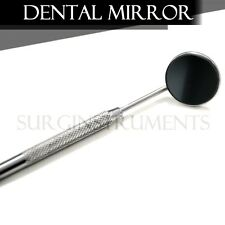 25 Front Surface Dental Mirrors #5 COMPLETE WITH HANDLE Surgical Instruments