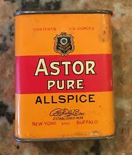 "1940S Astor Pure Allspice 3"" X 2.25"" Almost Full"