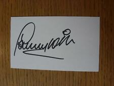 50's -2000's AUTOGRAFATO carta bianca: WILSON, Danny-Sheffield Wednesday, barnsle