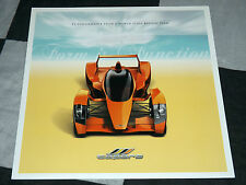 2006 CAPARO T1 3.5 V8 BROCHURE PROSPEKT RARE GORDON MURRAY FORMULA 1 SUPERB