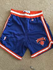 New York Knicks NBA authentic Champion shorts size 34 Used