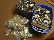 Huge Lego Lot 94 Lbs 390+ Minifigs City Ninjago 10229 60026 2507 7498 Minecraft
