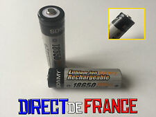 2 PILES ACCUS RECHARGEABLE BATTERIE 18650 Li-ion 3.7V 4800Mah BATTERY PUISSANT