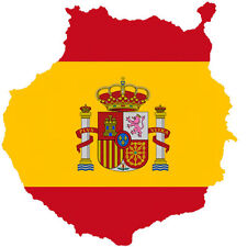 "Auto Aufkleber ""Gran Canaria"" Spanien Spain Decal Sticker!"