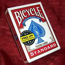 Professional Invisible Card Deck - Red Bicycle Back - Magic Trick - 14-count