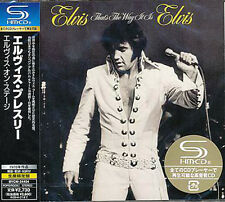 Elvis Presley Japan LTD  SHM CD THAT'S THE WAY IT IS New Sealed Japanese