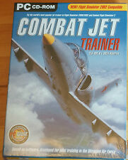Combat Jet Trainer ADD ON for Flight Simulator 2002 Just Flight Sealed Box