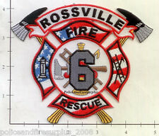 Tennessee - Rossville Rescue 6 TN Fire Dept Patch