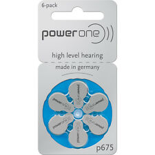 POWER One ZINCO ARIA protesi auditiva BATTERIE X30 SIZE 675