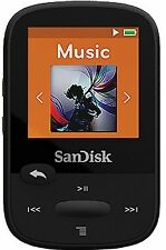 SanDisk Sansa Clip Sport Black 8 GB MP3 Player FM Radio + SD Slot FREE SHIPPING