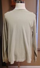 Redhead Long-sleeved Light Beige Pullover Size Large Bass Pro Shops Brand