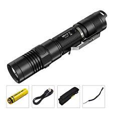 Nitecore MH12 1000LM CREE XM-L2 LED USB Rechargeable 18650 tactique Lampe Torche