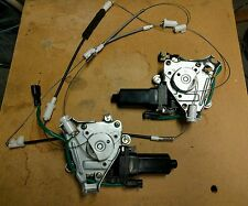 1997-2001 Hyundai Tiburon OEM both driver pass Power Window Motor 100% Tested!