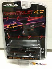 Greenlight 2015 * 1985 Chevrolet Monte Carlo SS * HOBBY EXCLUSIVE * Y68
