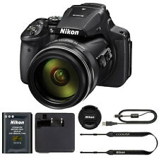 Nikon COOLPIX P900 Digital Camera with 83x Optical Zoom and Built-In Wi-Fi(Black