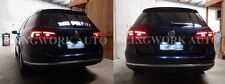White CREE LED CANbus Rego Number plate light for VW Jetta Mk6 Passat B6 B7 Polo