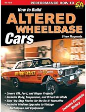 How to Build Altered Wheelbase Cars DRAG RACING PERFORMANCE FUNNY CAR MANUAL
