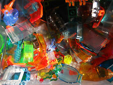 NEW LEGO 100+ TRANSLUCENT MIX OF PARTS PIECES HUGE BULK LOT RANDOM LEGOS LB