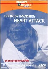 The BODY INVADERS - HEART ATTACK - KILLER DISEASE - Health DVD NEW SEALED Reg 4