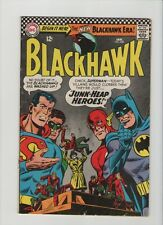 Blackhawk #228 - Superman Batman Flash Green Lantern Cover - 1967 (Grade 4.0) WH
