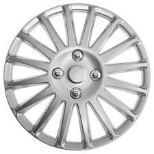 TopTech Speed 15 Inch Wheel Trim Set Silver Set of 4 Hub Caps Covers